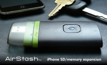 AirStash allows you to retrieve and view files all from your iPhone