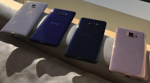Leaked photos allegedly showing the HTC U Ultra / Ocean Note