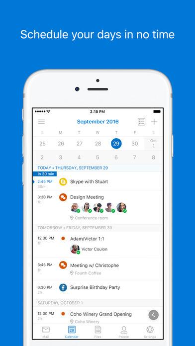 Microsoft Outlook for iOS