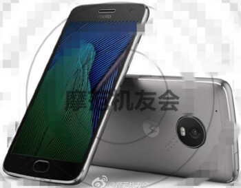 Alleged press image of the Moto G5 Plus