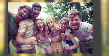 The HTC U Ultra can fit plenty of people in a selfie