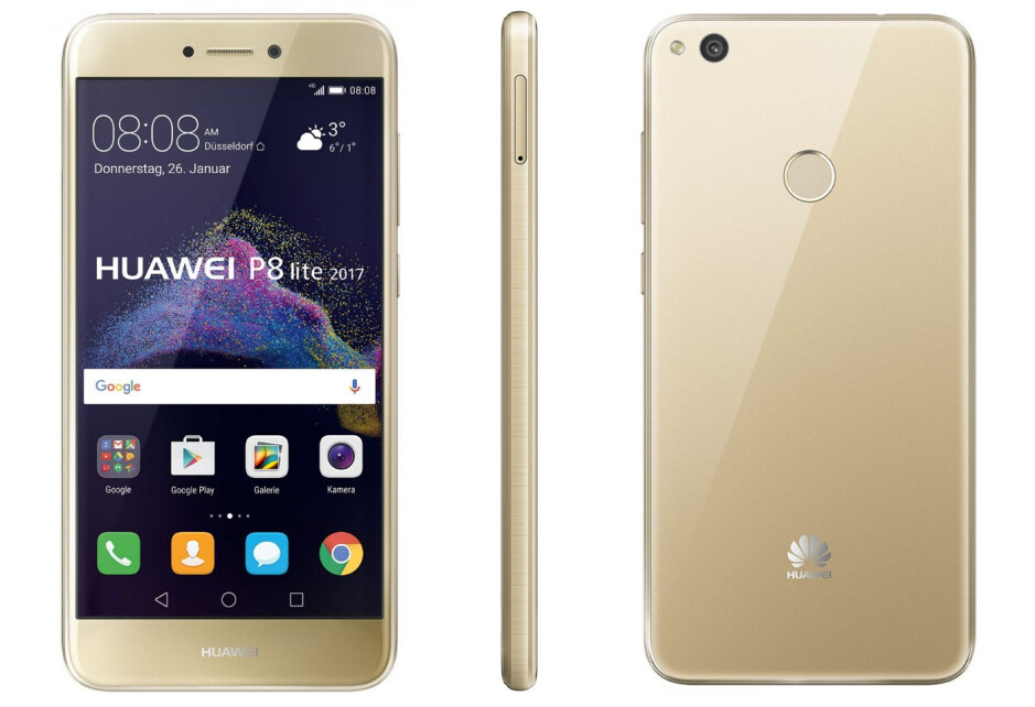 Huawei P8 lite (2017) introduced with Kirin 655 chipset, Android 7.0 Nougat
