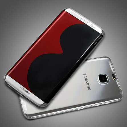 Alleged Galaxy S8 edge design gets tipped by a case maker render