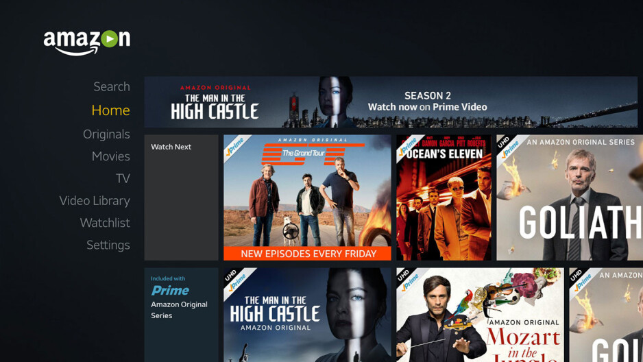 Amazon Video - Nvidia Shield TV (2015) updated to Android 7.0 Nougat, here is what's new