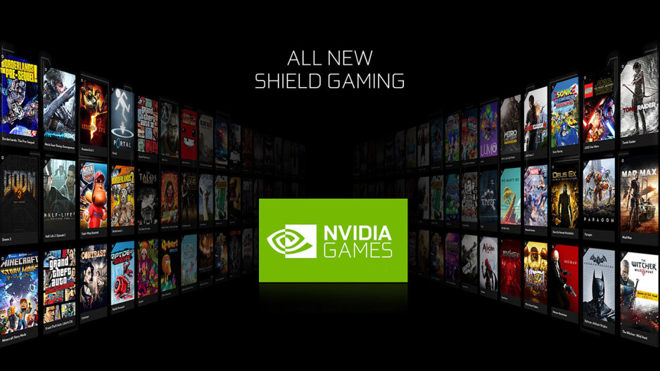 Nvidia Games app - Nvidia Shield TV (2015) updated to Android 7.0 Nougat, here is what's new