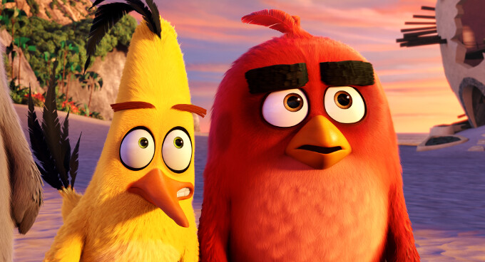 A scene from the Angry Birds Movie - Rovio, maker of the Angry Birds series, opens new MMO studio in London