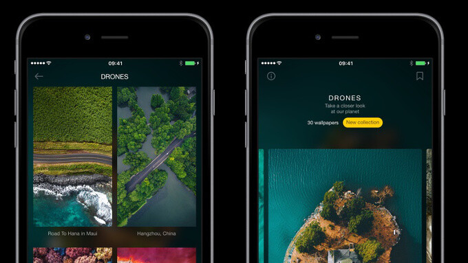 WLPPR is a no-bullshit, high-quality-wallpaper-only app for iPhone and iPad