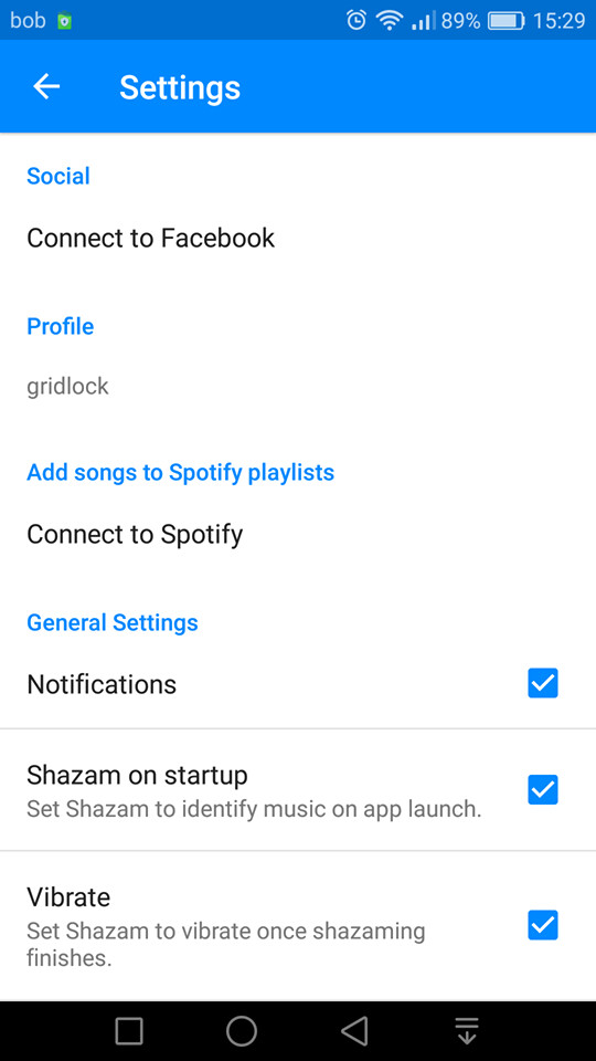 How to make Shazam start listening and recognize a song instantly upon app launch
