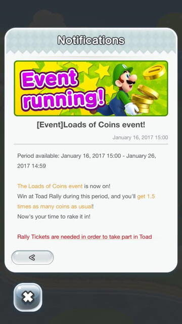Super Mario Run rolls out new, limited-time event to Toad Rally