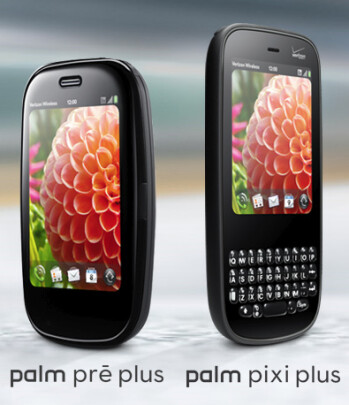 Palm unveils Pre Plus and Pixi Plus for Verizon Wireless