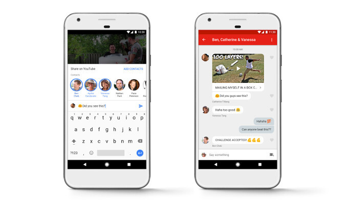 Google rolls out new YouTube sharing feature to Canada