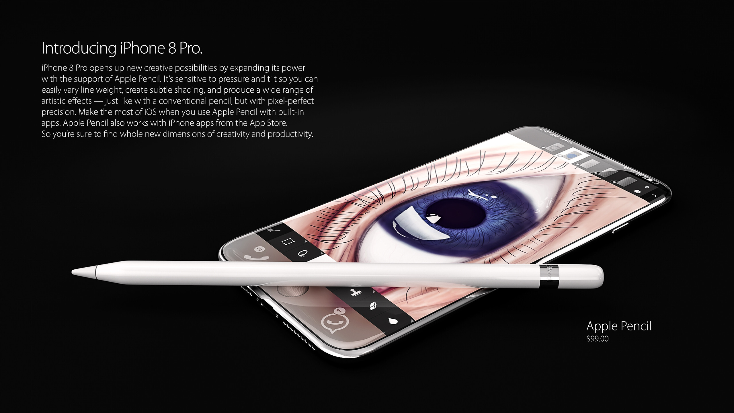info for 5ccc0 9679a This iPhone 8 concept brings all the rumors so far to life and it's ...