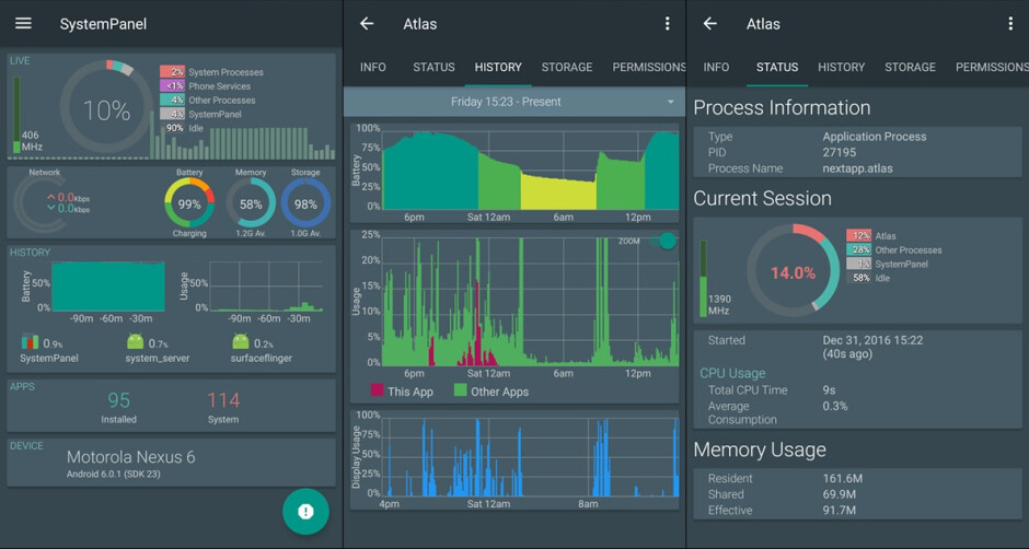 Spotlight: SystemPanel 2 is a pleasingly comprehensive system monitor for your Android device