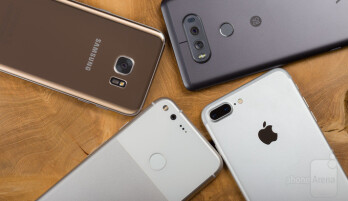 samsung galaxy s7 edge vs iphone 7 plus camera