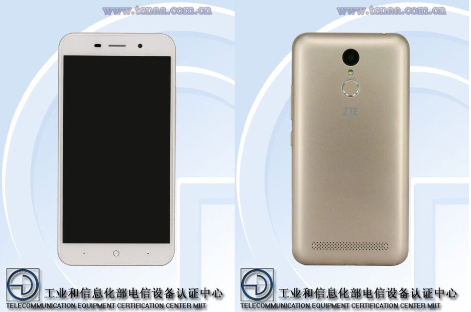 The ZTE BA602 has been outed with a fingerprint sensor, 3GB of RAM, and more
