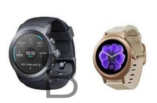 LG Watch Sport and Watch Style Android Wear 2.0 smartwatches appear in blurry press photos