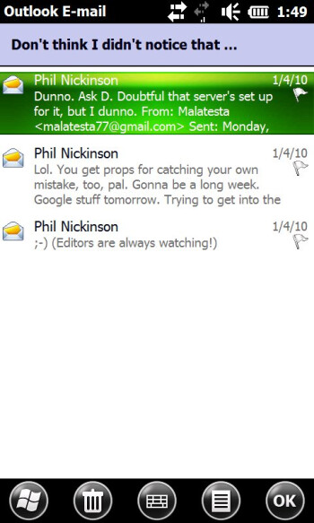 Latest version of Outlook plans to offer threaded email views