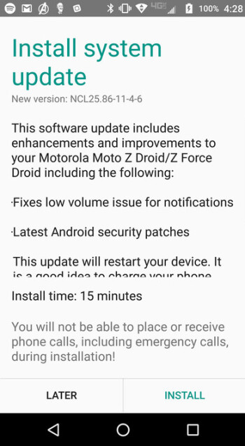 Software update is coming to the Moto Z Droid and Moto Z Force Droid