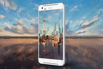 The HTC One X9, announced during MWC 2016