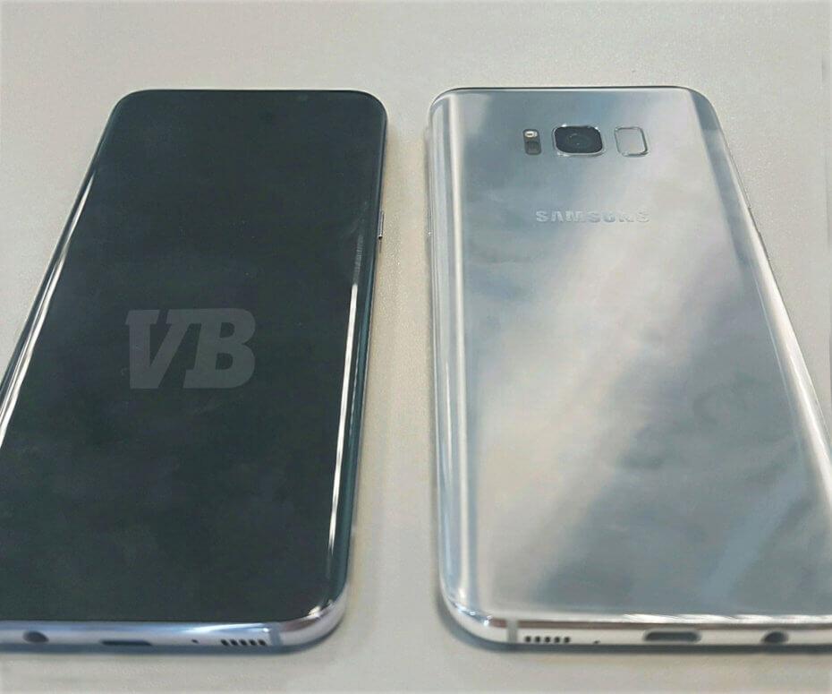 Major leak seemingly reveals the real Samsung Galaxy S8, rear fingerprint scanner included