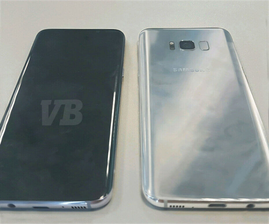 Alleged spy shot of the Galaxy S8 - Did you like what you saw in the Galaxy S8 design leak and concept images?