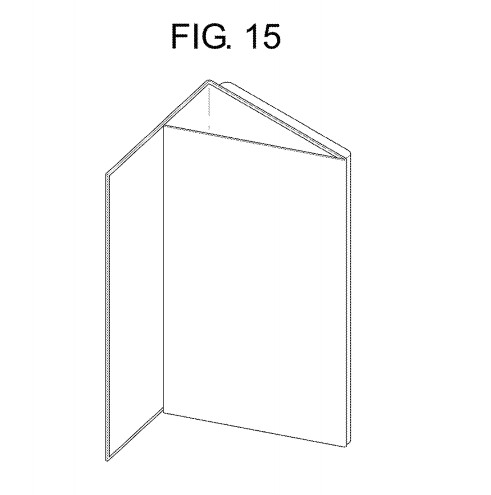 Foldable phone from LG patent US D777,131 S
