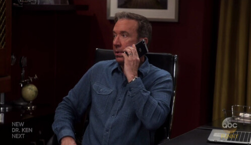 BlackBerry Mercury gets a product placement on Last Man Standing with Tim Allen