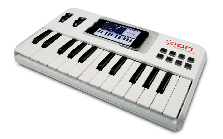 Release your inner music composer with the iDiscovery keyboard for the iPhone