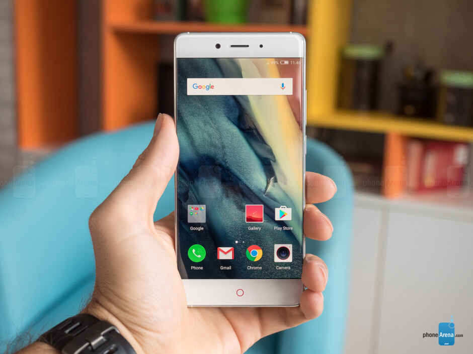 The Find 9 is said to look similar to the Nubia Z11, pictured here - Mythical Oppo Find 9 said to have Snapdragon 653 and 835 variants