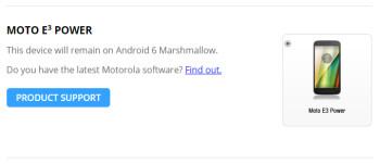 3rd-gen Moto E series won't see Android 7.0 Nougat, says Motorola in Android Motorola Updates