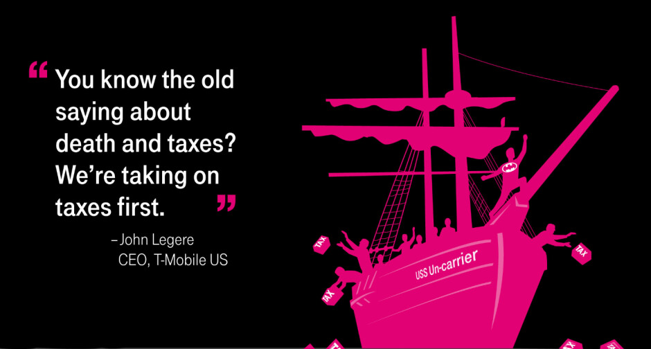 """Starting February 1st, T-Mobile subscribers who qualify will receive an 11.2% rebate on all smartphone purchases - T-Mobile's """"Boston Tea Party"""" sale returns 11.2% of the price on every smartphone it sells"""