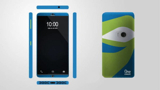 The original design for Project CSX (aka Hawkeye) - ZTE may replace the Hawkeye Kickstarter campaign with an improved handset