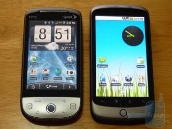 HTC Hero and Nexus One