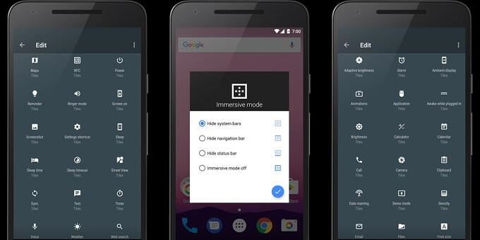 Spotlight: Tiles lets you add custom toggles to Android Nougat's Quick Settings