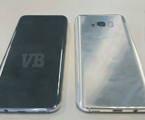 Alleged Galaxy S8