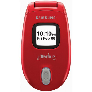 Samsung announces the Jitterbug - in red
