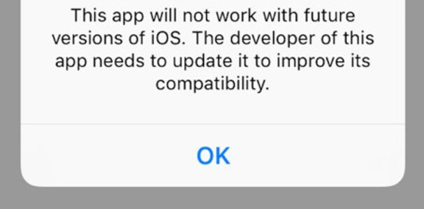 Pop up warnings that started in iOS 10.3 beta 1 could alert developers that they need to update their apps to support 64-bit technology - Apple expected to drop support for 32-bit apps in iOS 11