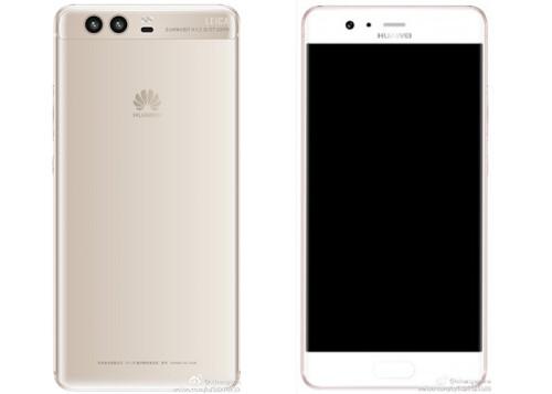 Huawei P10 Plus renders
