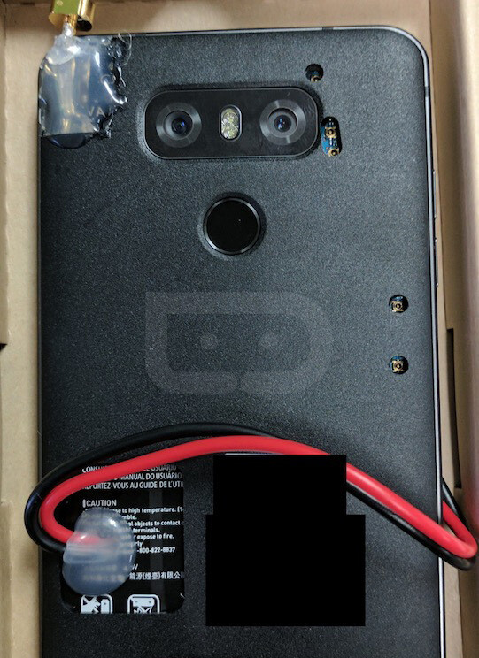 An image of an LG G6 prototype shows a dual-camera setup. (via DroidLife) - LG G6 vs LG G5 vs LG G4: the design, specs, camera, and battery changes we're expecting