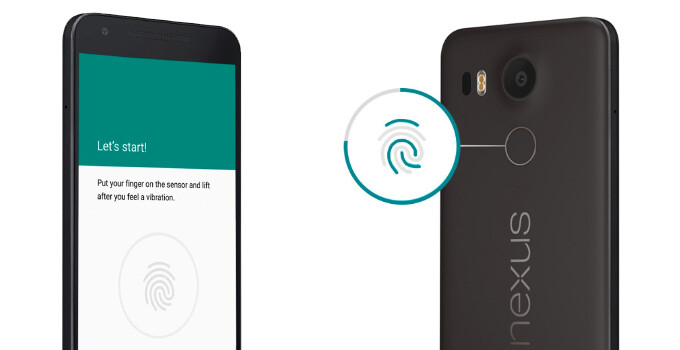 Android 7.1.2 brings fingerprint gestures over to the Nexus 5X, Nexus 6P likely to follow