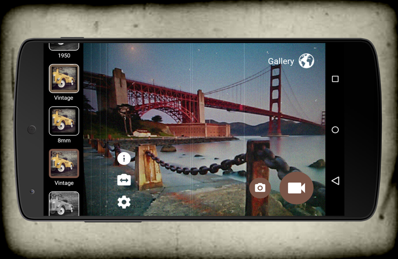 Camera Vintage Android : Best retro camera apps