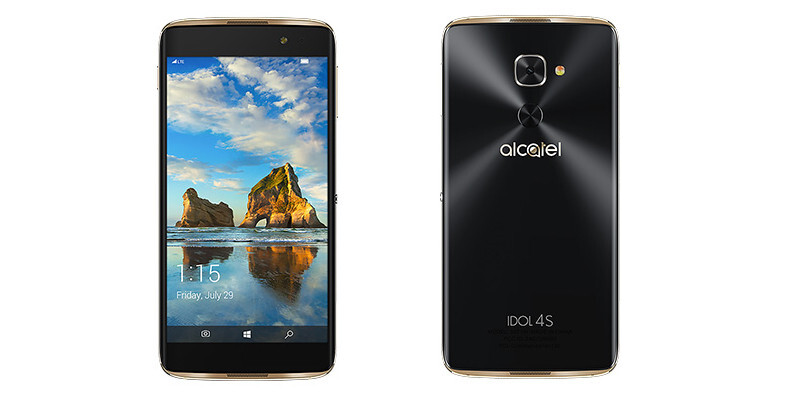 Alcatel Idol 4S with Windows coming to Europe in Q2 2017