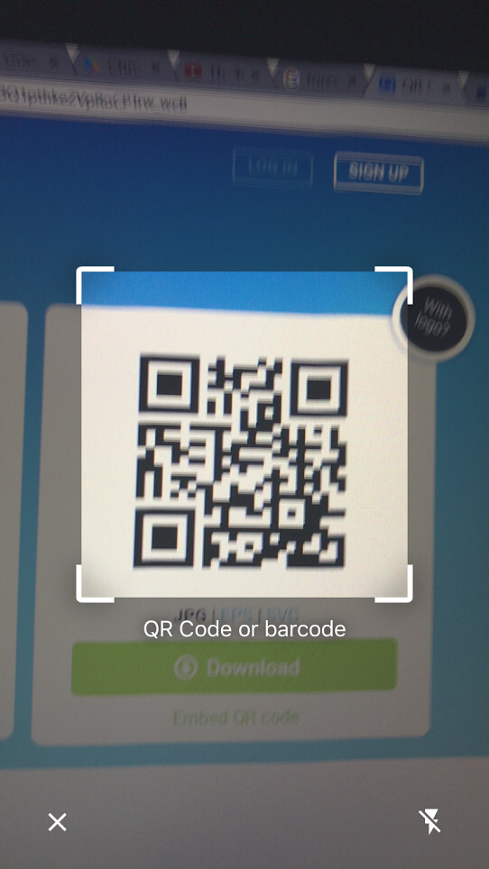 It's so quick I was barely able to take this screenshot - Google Chrome for iOS gets updated with built-in QR code scanner