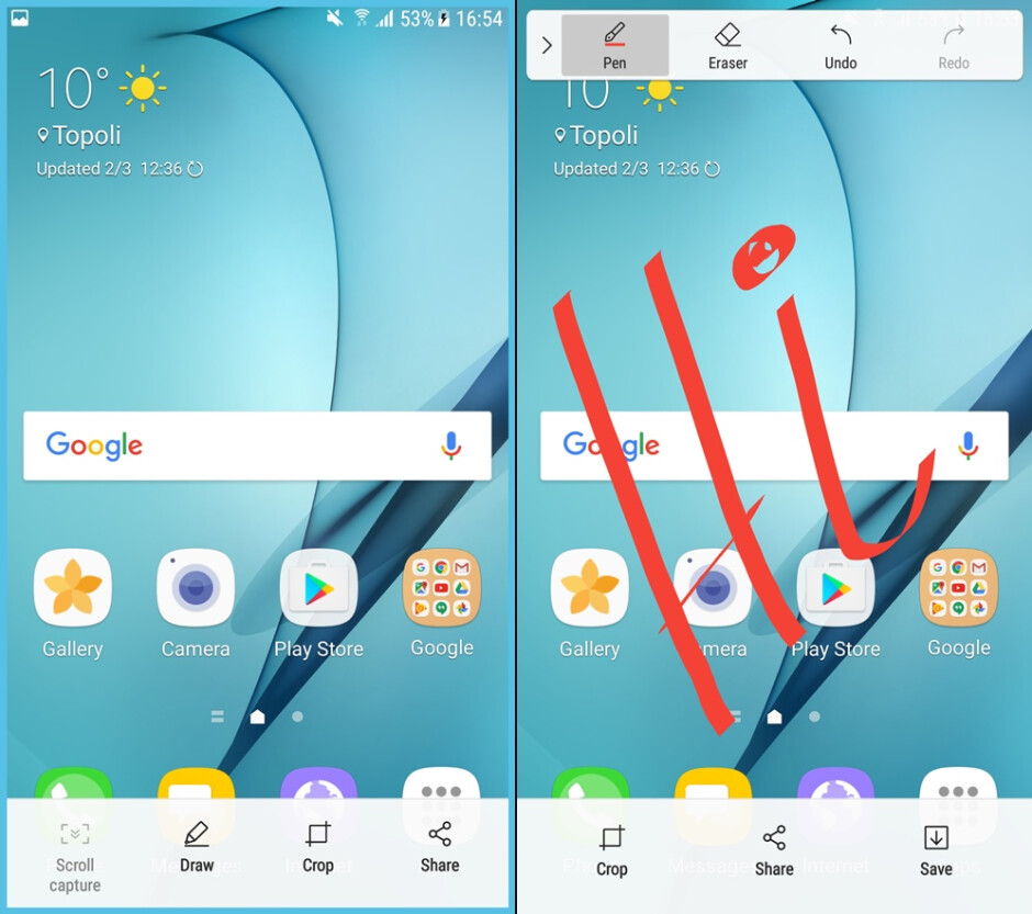 Samsung Galaxy S7 before and after the Android Nougat update: here's what's changed
