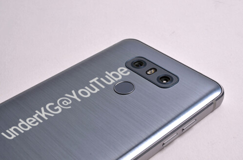 Leaked images purportedly showing off the LG G6