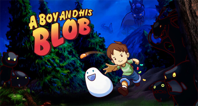 """Beautiful puzzle-platformer """"A Boy and His Blob"""" finds its way to Android"""
