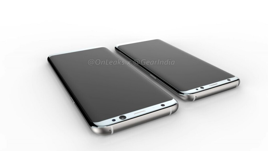 Big, clear, and shiny: these renders give us the best view yet of what the Galaxy S8 and S8 Plus will allegedly look like