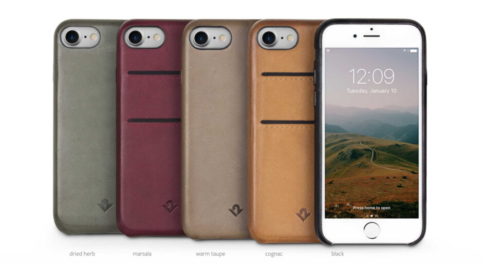 This genuine leather case for iPhone 7 and 7 Plus looks great and ages well