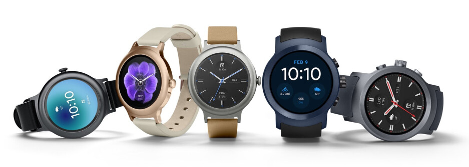 LG Watch Style on the left, LG Watch Sport on the right - LG Watch Style and Sport, the first Android Wear 2.0 watches, are now official
