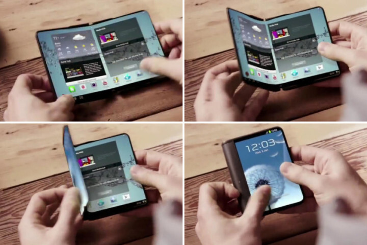 Samsung could present a foldable smartphone prototype at MWC
